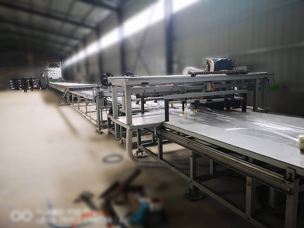 SH1500 FRP rooflighting sheet production line