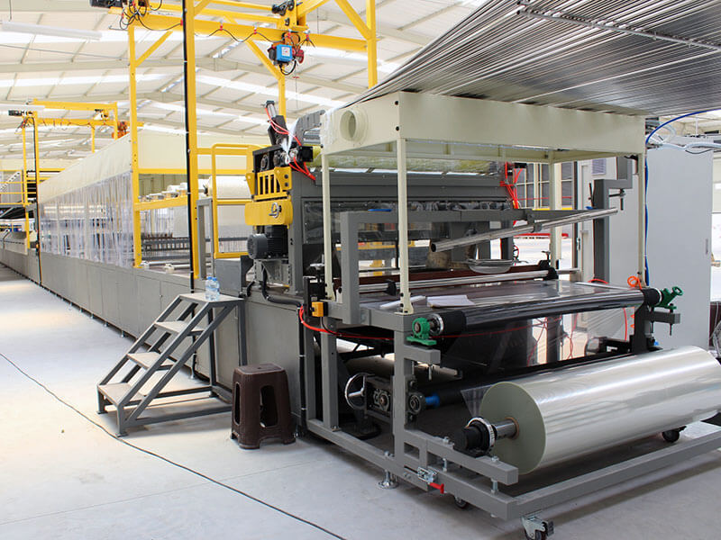 SH2200 ultimate type gelcoat FRP roofing sheet production line