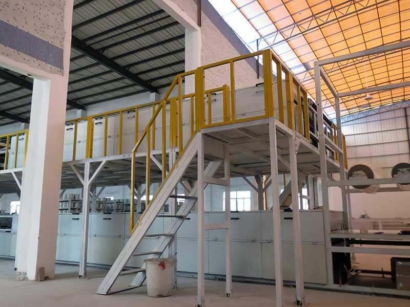 SH2200 intelligent type gelcoat FRP roofing sheet production line