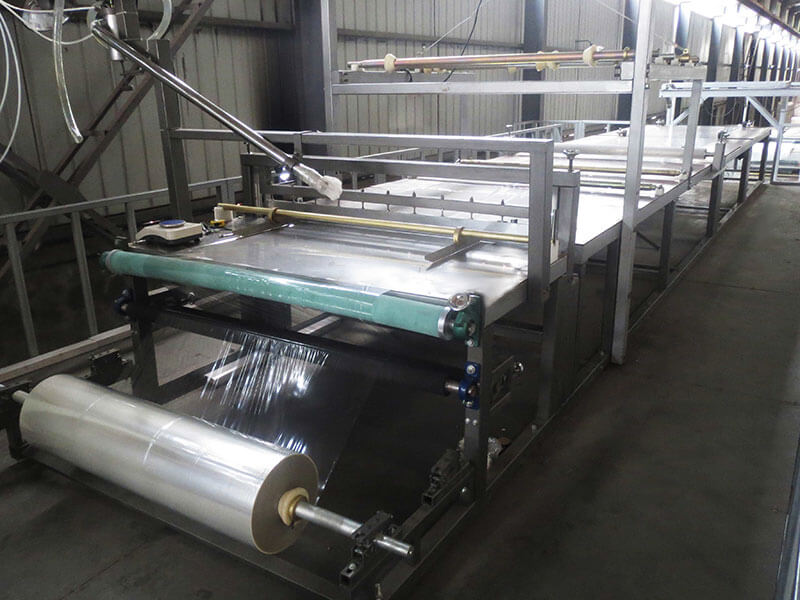 SH2200 stereoscopic type FRP sheet production line
