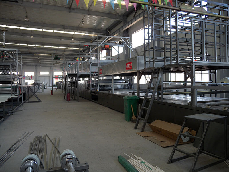 SH2200 dual-layer-gelcoat FRP sheet production line