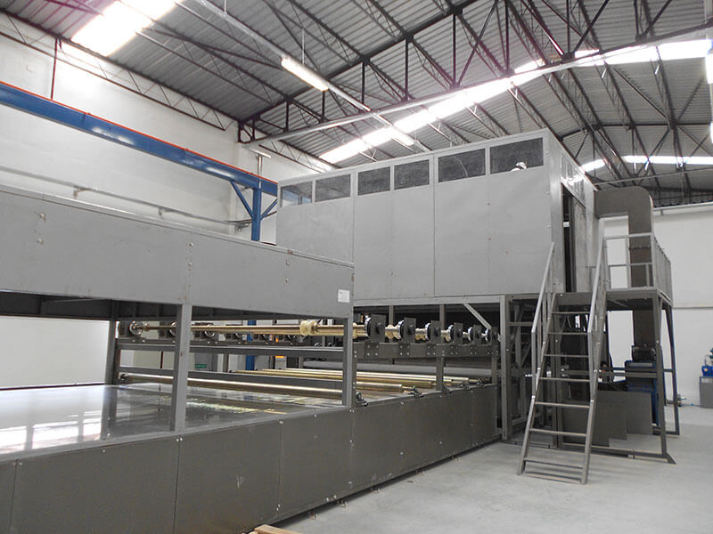 SH3000 FRP rooflighting sheet production line