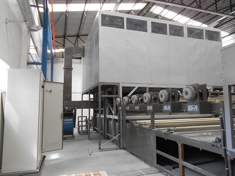 SH3000 FRP gelcoat FRP sheet production line